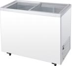 Congelador de vidro da caixa da porta para ETL