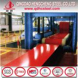 La bobine en acier principale de la Chine PPGI a enduit la bobine d'une première couche de peinture en acier galvanisée