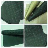 Papel de embalaje de encargo de regalo de la impresión de la insignia de la alta calidad