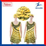 Vestiti poco costosi dal Netball delle signore di sublimazione di usura di sport di prezzi di Healong da vendere
