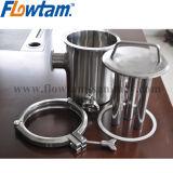 De Sanitaire Magnetische Filter van het roestvrij staal voor Vloeistof