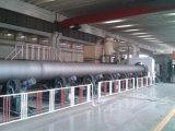 Tubo 3PE recubrimiento espiral soldada de aceite de acero