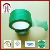 切りやすさの防水機能が付いている物質的な緑の布ダクトテープ
