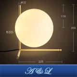 Lâmpada de mesa de estilo de bola de design moderno com bom preço