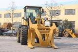 Caricatori della rotella da 3 tonnellate con la forcella di legno