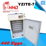 Hhd Professional Автоматическая перепелиные яйца инкубатор инкубационных яиц Yzite-7
