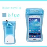 Водонепроницаемые молнии мешок, водонепроницаемый мешок для телефона и камеры для плавания и снаряжение для дайвинга
