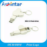 Porte-clés en métal USB Flash Disk Cartoon USB Memory Stick