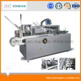 De horizontale Automatische Machine van de Verpakking van de Doos van het Karton van de Blaar voor Geneesmiddel