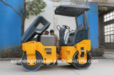Compactor ролика дороги хорошего барабанчика цены польностью гидровлического двойного Vibratory 4.5 тонны