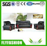 Sofá moderno de la oficina de cuero durable (OF-01)