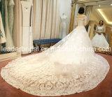 Мантии Поезд Собор Свадебного Бала Шнурка с Плеча Свадебные Платья 2016 Z8005