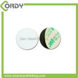 125kHz EM4100 RFID etiquetas de disco de PVC cartão de etiqueta de moeda de plástico