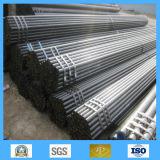 Pipe/tube noirs d'acier en forme de tuyau d'acier sans joint de carbone de tube