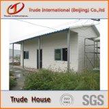 Helles Stahlzwischenlage-Panel-bewegliches/modulares Gebäude/fabrizierten/Fertigfamilien-lebendes Haus vor
