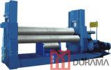 Prensa de batir de la placa hidráulica de tres rodillos