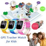 Sos를 가진 형식 Andriod&Ios 디지털 아이 GPS 추적자 시계