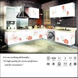 高い光沢のある食器棚(FY091)を塗る現代紫外線カラー