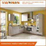 Melamin-Küche-Schrank des neuen Entwurfs-2016 moderner