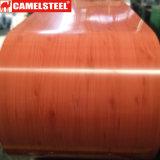 Het houten Ontwerp verfte de Gegalvaniseerde Rol van het Staal voor Decoratie vooraf