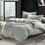 柔らかい印刷された羽毛布団カバーシーツの寝具セット