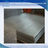 Concret che rinforza la fabbrica della rete metallica