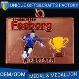 Medalhas de metal atraentes para atividades esportivas