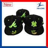 주문 3D 자수 남자 스포츠 야구 모자 모자