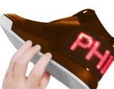 Pattini flessibili molli del segno del messaggio del PWB P2.5-12X48 (32X150mm) Bluetooth LED di multi linguaggio