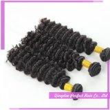Nouveaux styles de cheveux Good Price Dark Brown Curly Hair Extensions