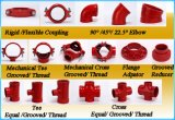 Nodular Iron Grooved Equal Tee Certification FM / UL