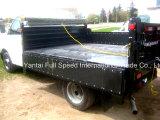 uma caixa média da descarga do dever, descarga encaixota as peças, acessórios do caminhão