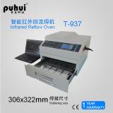 Новая печь Reflow SMT Desktop, Puhui T-937, машина SMD СИД паяя