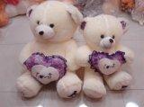 L'ours en peluche Hi FR71 avec coeur