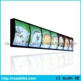 Único lado LED menu Light Box para Restaurant