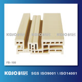 緑の製品WPCのプラスチック木製の戸枠(FB-100)