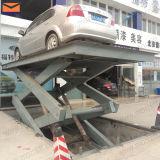 販売のための車の持ち上がるプラットホーム