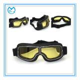 Espuma de cuero de la PU Anti-impacto polarizado gafas de los deportes Motocross Goggles