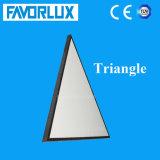 Lampe de panneau personnalisée de la triangle DEL de vente directe d'usine