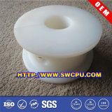 Roue en plastique colorée par coutume roulement à billes/poulie en nylon/poulie rouleau en plastique pour la porte coulissante