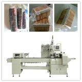 Na máquina de embalagem de biscoitos de Borda