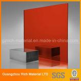 Colorer la feuille en plastique acrylique de miroir/la feuille miroir du plexiglass PMMA pour la gravure/découpage