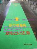 Установите противоскользящие резиновые Passway зеленого руководящих коврик для рынка Японии