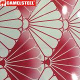 Bobina d'acciaio del reticolo PPGI/Printed fiori/di alta qualità