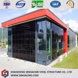 Construction diplôméee vite assemblée d'exposition de véhicule de structure métallique