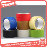 La venta al por mayor coloreó la cinta adhesiva de papel adhesiva del Crepe, cinta