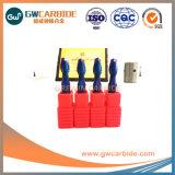 HRC45-60 D4X50 карбид вольфрама Ballnose конечных продуктов
