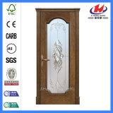 Zusammengesetzte Mosaik-Glas-hölzerne Tür (JHK-FD01)