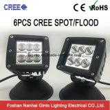 지프 (GT1022-24W)를 위한 이중의 24W 입방체 반점 또는 플러드 크리 사람 LED 일 빛