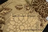 Schöner Blumen-und Blatt-Chenille-Jacquardwebstuhl mit Musivgold (FTH32064)
